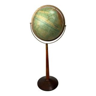 World Nation Mid Century Floor Globe For Sale