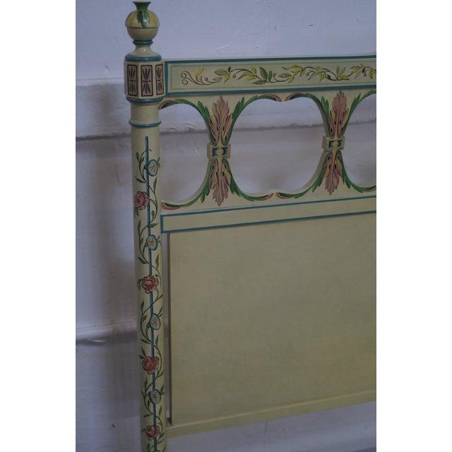 Widdicomb Mid-Century Venetian Style Queen Bed - Image 9 of 10