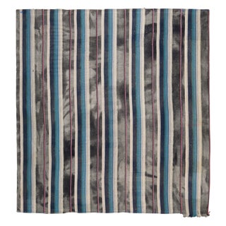 1950s Vintage Contemporary Rug-9′5″ × 9′11″ For Sale