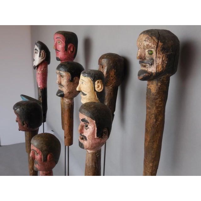 Folk Art Folk Art Sculptures For Sale - Image 3 of 8