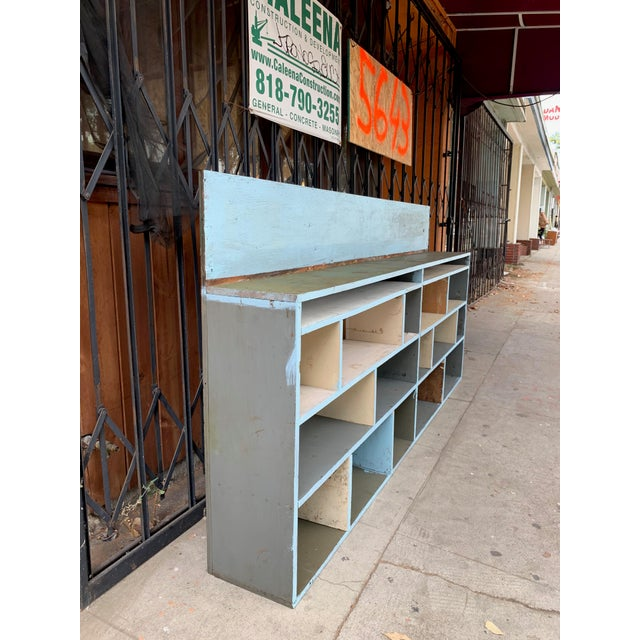 1950's Industrial Style Custom Made Cabinet For Sale - Image 4 of 9