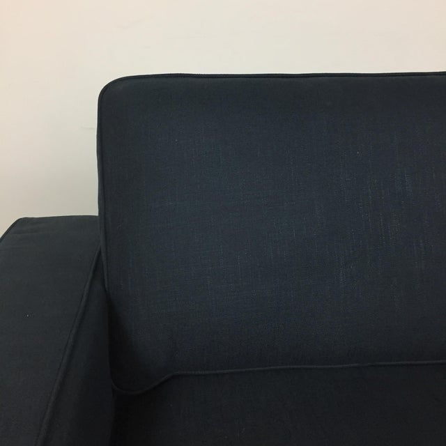 Modern Navy Sectional Sofa - Image 4 of 8