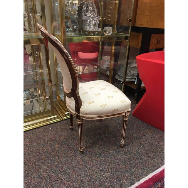 Antique French Dining Chairs - Set of 6 For Sale - Image 4 of 8