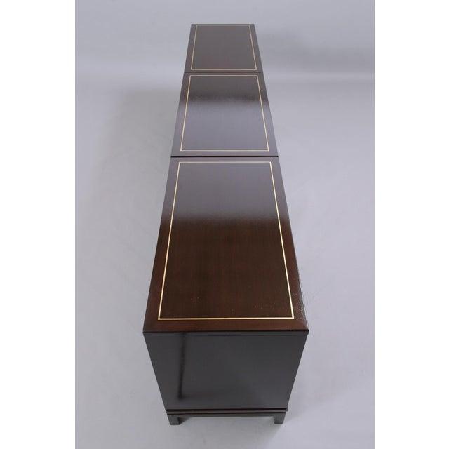 Mid-Century Modern Ebonized Credenza For Sale - Image 11 of 13
