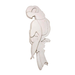 Rare Laminated Wood Parrot For Sale