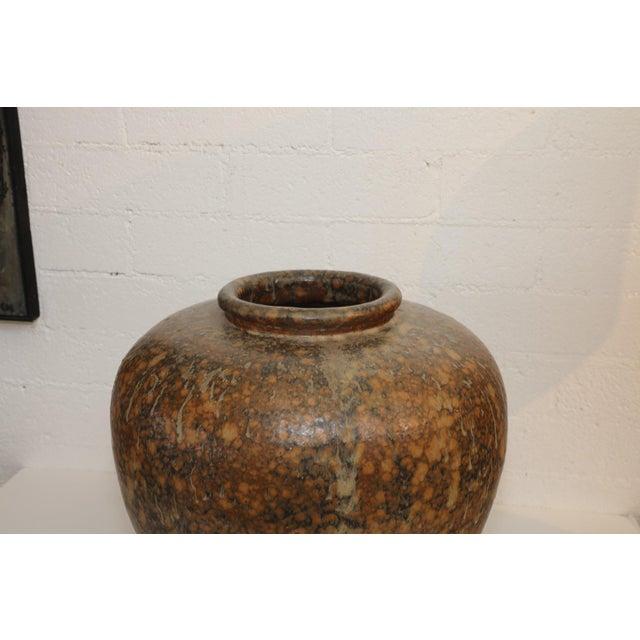 Ceramic Large Art Pottery Vase by Hiroshi Nakayama & Judy Glasser For Sale - Image 7 of 10