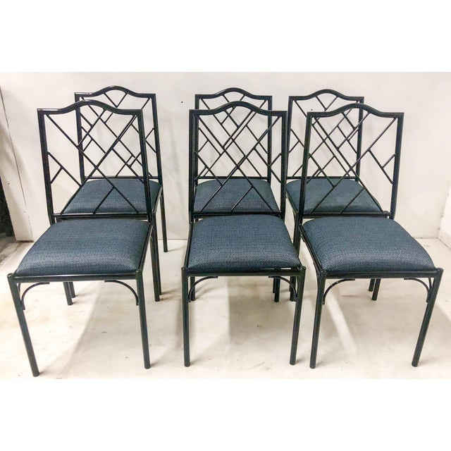 Chippendale Style Dining Chairs, Set of Six For Sale - Image 12 of 12