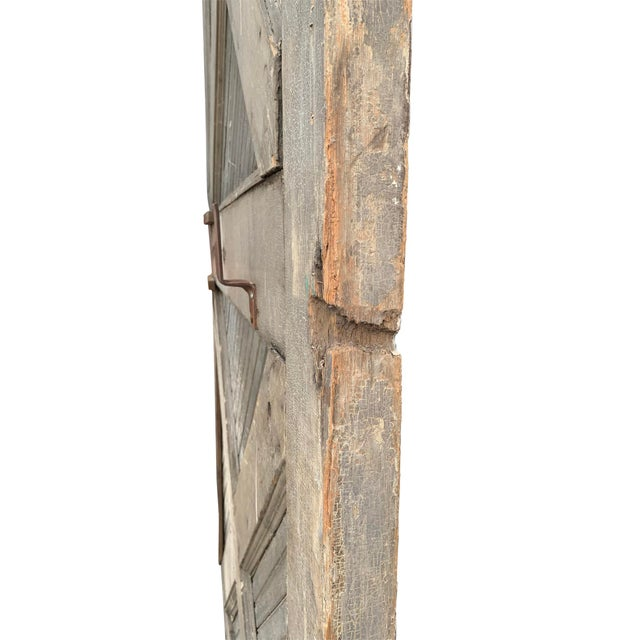 19th Century 19th Century Vintage American Barn Door For Sale - Image 5 of 13