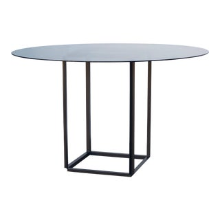 Cuboid Minimalist Center or Breakfast Table by Design Frères For Sale