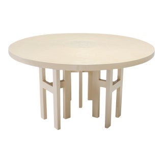 Jean Claude Dresse Exceptional Resin Dining Table For Sale