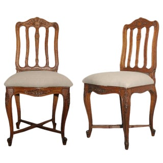 Side or Bedroom Chairs - A Pair For Sale