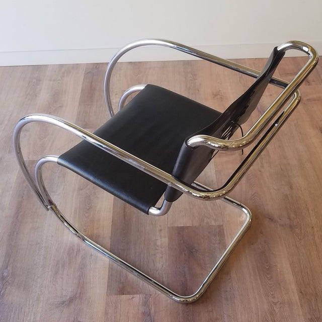 Ludwig Mies Van Der Rhoe 1970s Mr 20 Chair - Attributed For Sale In Seattle - Image 6 of 13