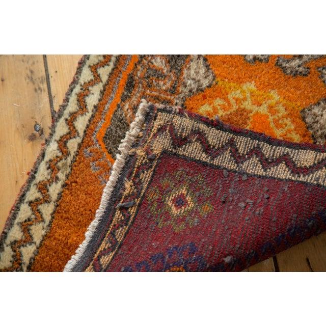 """Vintage Oushak Rug Mat - 1'11"""" X 2'10"""" For Sale - Image 4 of 5"""