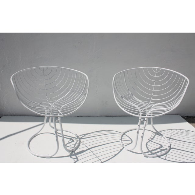 "Italian ""Pan Am"" Logo Chairs - A Pair - Image 4 of 11"
