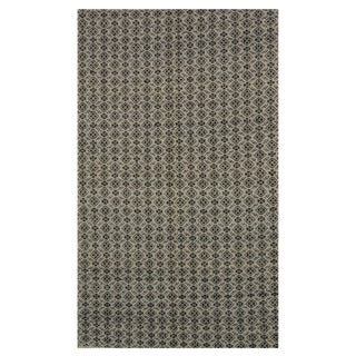New Indian Kilim - 4′10″ × 7′11″ For Sale
