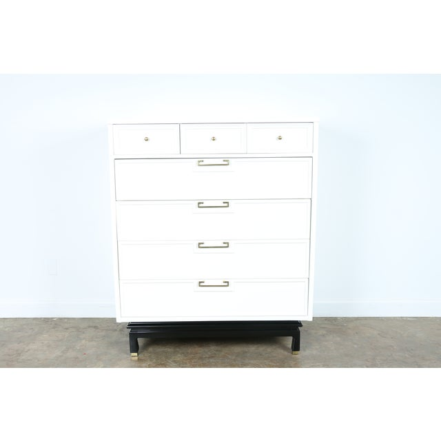 American of Martinsville Lacquered Highboy Dresser - Image 2 of 11