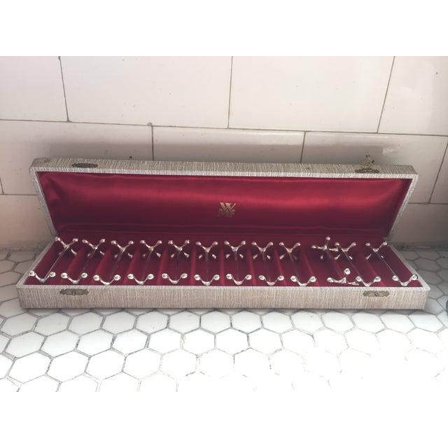 Vintage Jacks Silver Plated Knife Rests - Set of 12 - Image 2 of 7