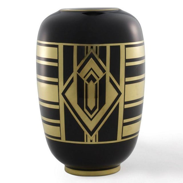 "Ralph Lauren ""Callia"" Diamond Art Deco Vase - Image 2 of 6"