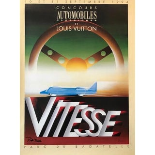 1994 French Contemporary Poster, Louis Vuitton Cup (Razzia) For Sale