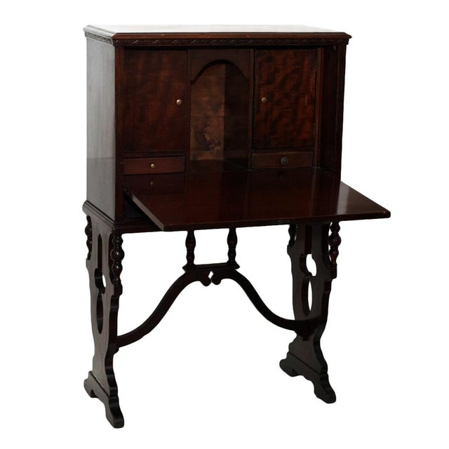 "Early 20th Century ""Vargueno"" Secretary Desk - Image 6 of 10"