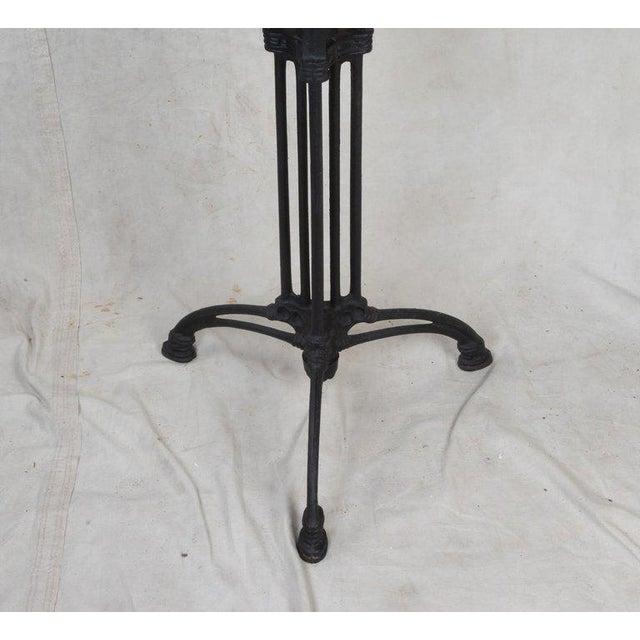 Art Deco Art Deco Cast Iron Base Table With Pietra Dura Specimen Top For Sale - Image 3 of 12