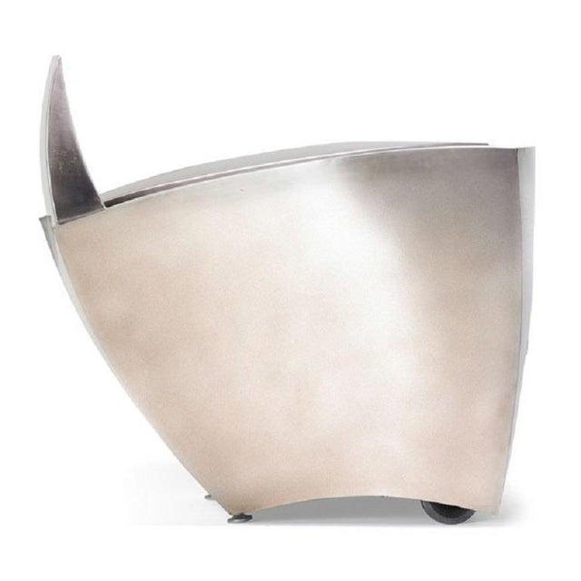 Art Deco Pair Jonathan Singleton Lounge Chairs For Sale - Image 3 of 6