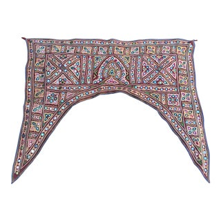 Indian Mirrored Door Valance For Sale