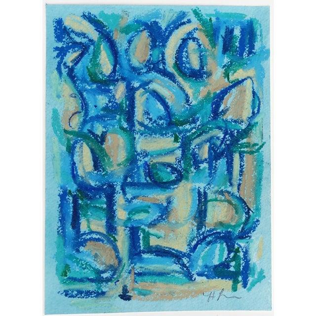 Female Blue IIIa Painting by Heidi Lanino For Sale