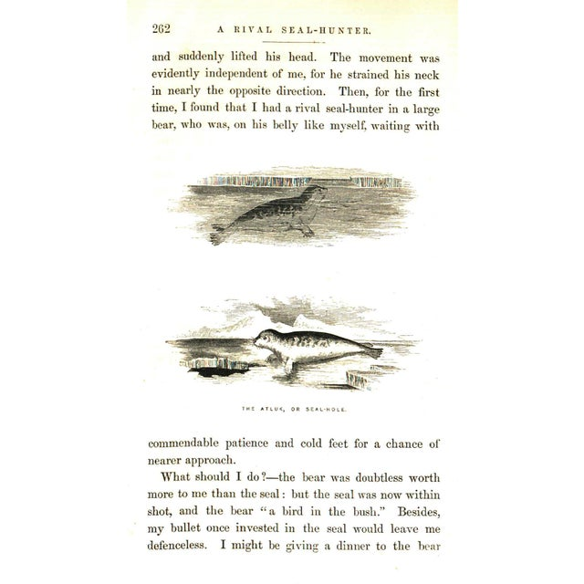 """Booth & Williams 1856 """"Arctic Explorations Vol I."""" Collectible Book For Sale - Image 4 of 6"""