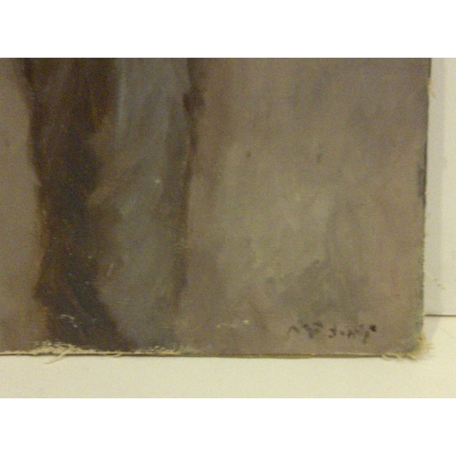 """""""Standing Portrait"""" Original Painting by McDuff For Sale In Pittsburgh - Image 6 of 8"""