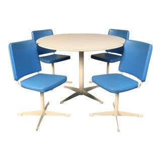 Brody Mid-Century Modern Dining Set - Saarinen Style