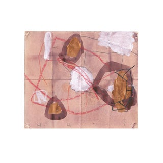 Abstract Work on Paper by M. P. Landis - From Warehouse Drawing Series For Sale