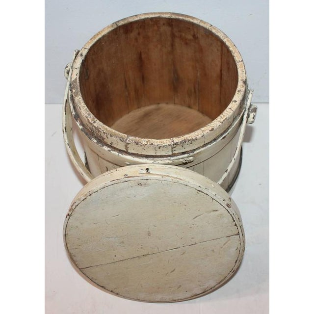 Mid 19th Century Group of Three Assorted Furkins or Buckets For Sale - Image 5 of 9