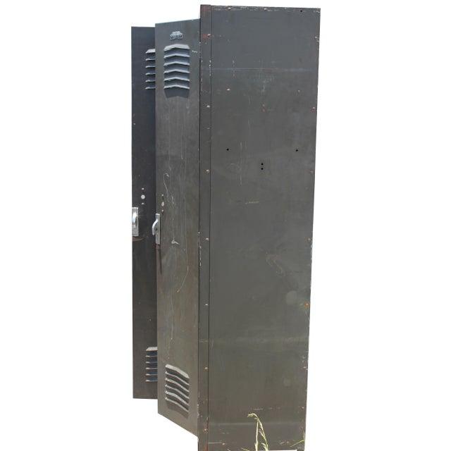 Vintage Metal Lockers For Sale - Image 10 of 10