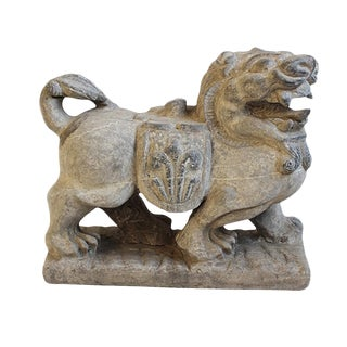 Grey Stone Lion For Sale