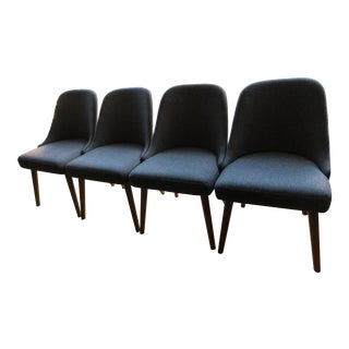 West Elm Mid-Century Dining Chairs - Set of 4 For Sale