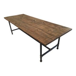 Steamer Reclaimed Pine Dining Table