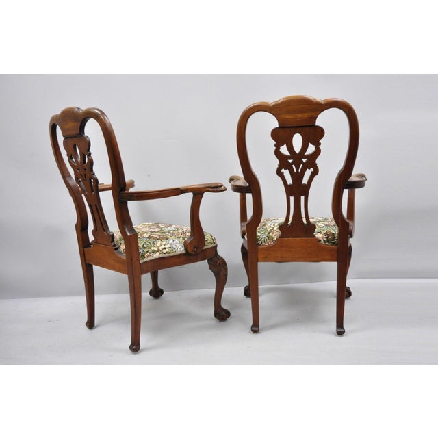 Early 20th Century Vintage Mahogany Chippendale Style ...