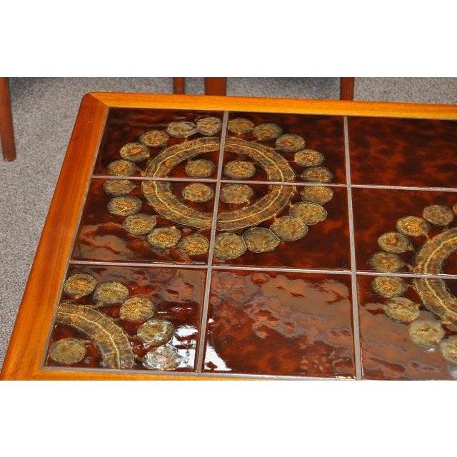 Teak & Tile Coffee Table C.1970 - Image 7 of 8