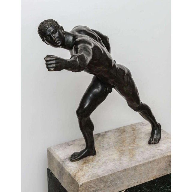 Bronze Sculpture of the Borghese Gladiator - Image 5 of 10