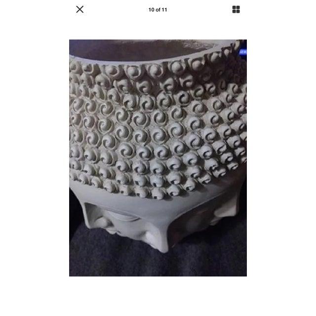 Fornasetti Dora Maar Style Multi Face Asian Buddha Planter / Vase For Sale - Image 9 of 12