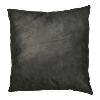 Passport Moon Glow Leather Pillow For Sale