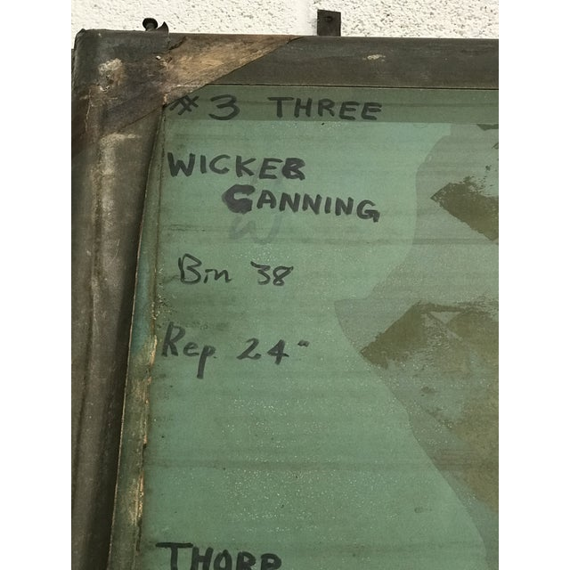 Screen Press Titled Wicker Canning #3 For Sale - Image 4 of 6