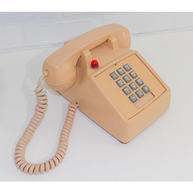 Plastic 1980's Hotel Guest Touch Tone Telephone For Sale - Image 7 of 8