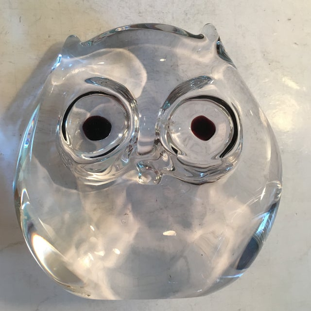 Vintage Art Glass Owl - Image 5 of 8