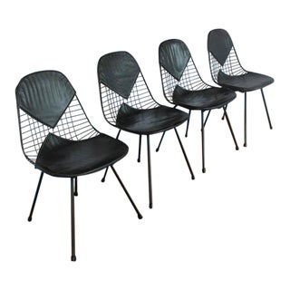 1950s Charles Eames for Herman Miller Dining Chairs- Set of 4 For Sale