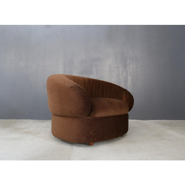 Fabric 70's Modular Corner Sofa With Armchair. For Sale - Image 7 of 9