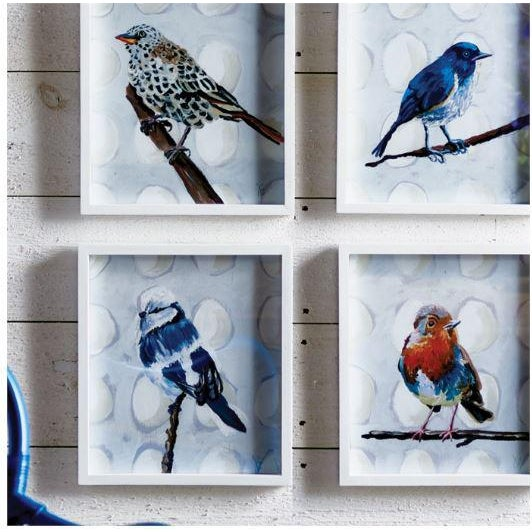 With this set of T-Bird prints, Nancy B. captures a family of feathered friends waiting for Spring. A charming set that...