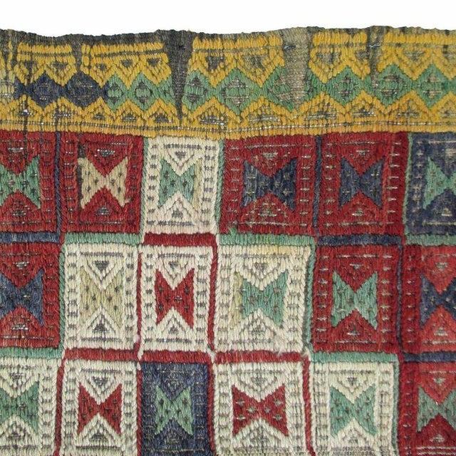 Vintage Turkish Kilim Cicim Flatweave- 5'' x 8'9'' - Image 4 of 5