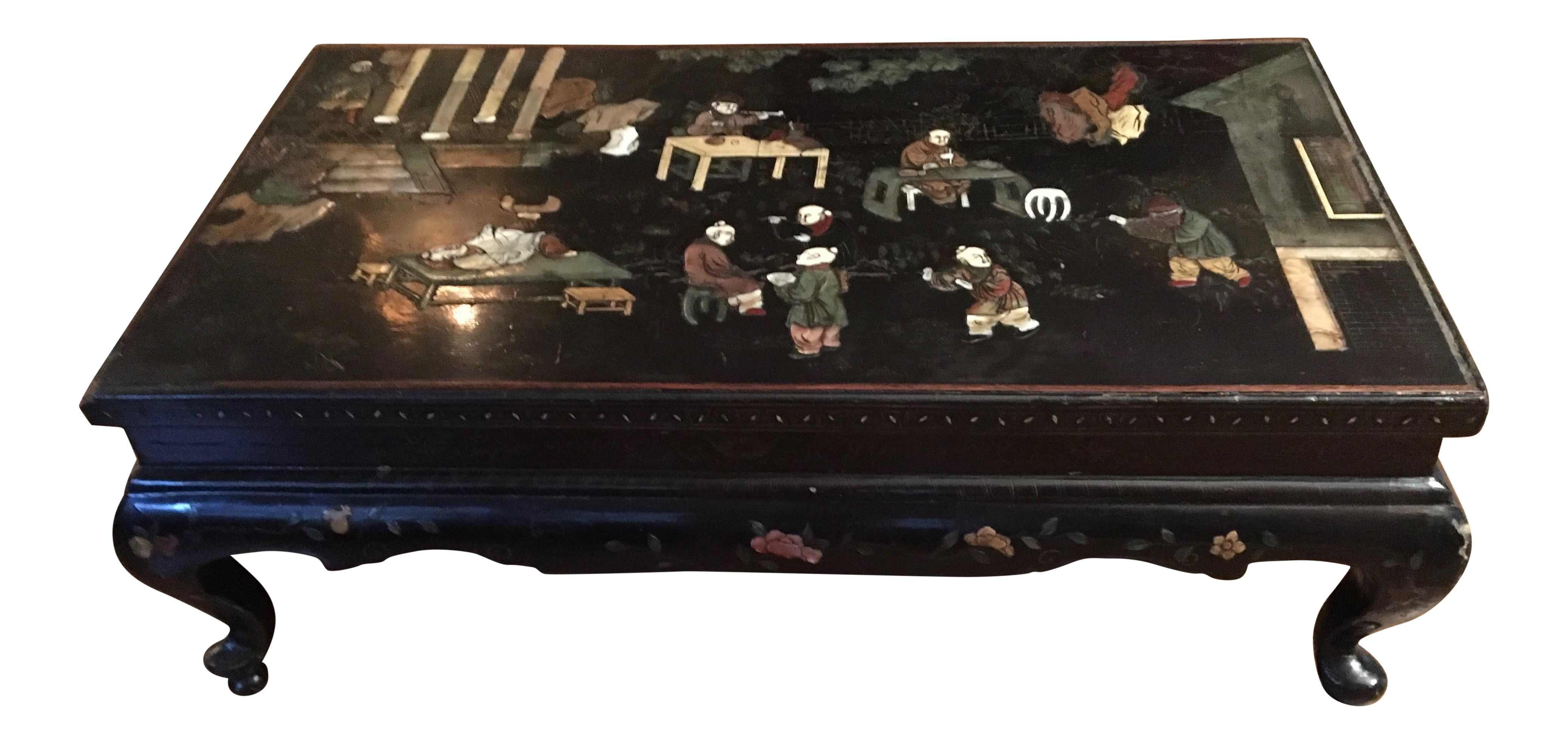 19th Century Chinese Low Cocktail Table
